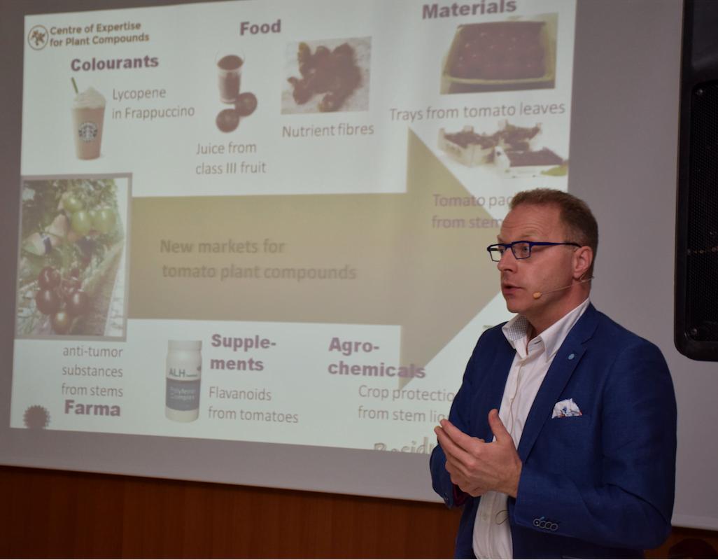 """DÍA DE HOLANDA """"La horticultura como sector circular de la economía"""""""
